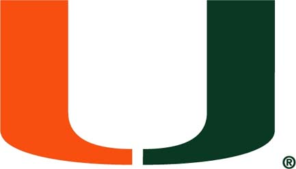 University of Miami pool table   accessories